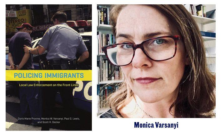 Professor Monica Varsanyi's New Book Wins American Society of Criminology Award