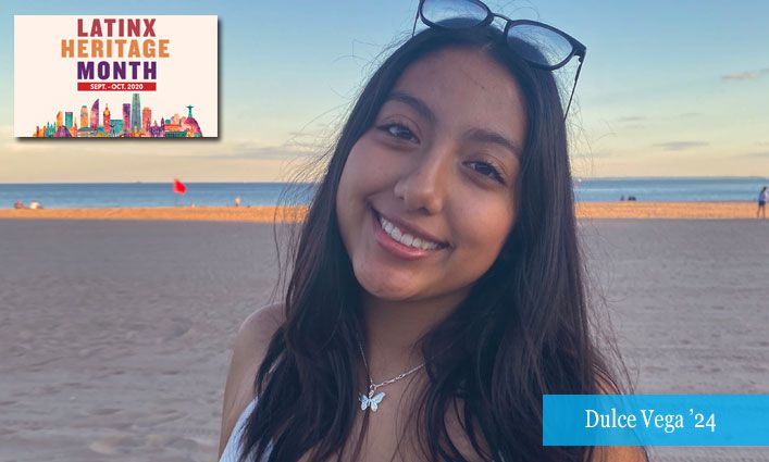 Latinx Celebration: Dulce Vega '24 Finds Inspiration in Strong, Compassionate, and Driven Latinx Women