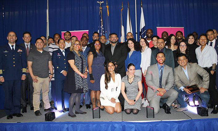 John Jay Celebrates Our Graduating Veterans