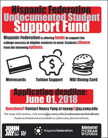 Hispanic Federation Undocumented Student Support Fund
