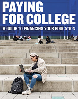 Paying for College brochure