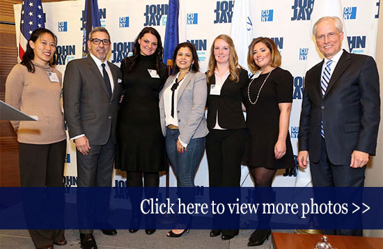 John Jay College Champions of Justice 2016 photo gallery