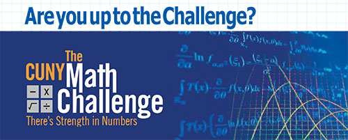 the CUNY Math Challenge