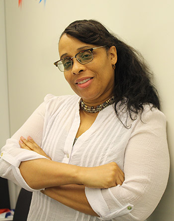 Nadia Griffith-Allen, Deputy Director of the Office of Accessibility Services