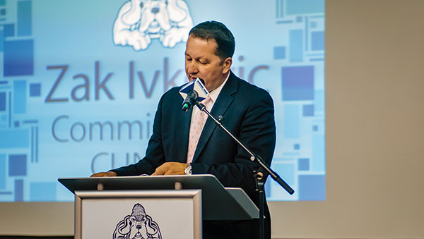 Zak Ivkovic, Commissioner of the CUNY Athletic Conference