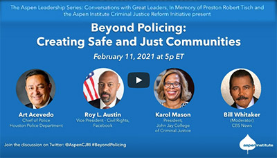 Beyond Policing: Creating Safe and Just Communities