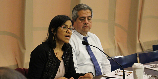 Sumaya Villanueva at the CUNY Justice Academy