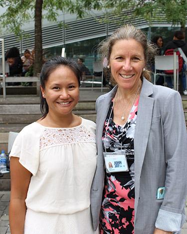 Dana Prieto and Cassandra Evans