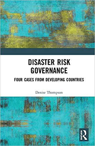 The cover of Disaster Risk Governance