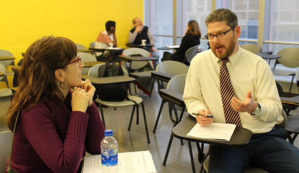 Faculty members share techniques to enhance the student learning experience