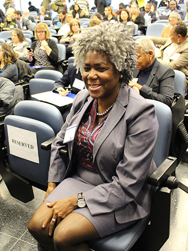 Annelle Primm, M.D., a psychiatrist and the Senior Medical Director at The Steve Fund