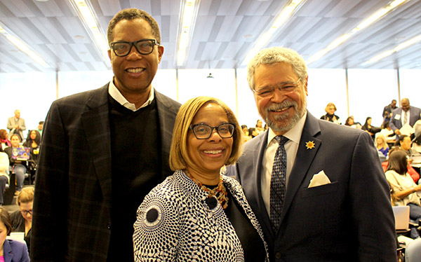 scenes from the CUNY's Diverse, Gifted & At Risk Conference