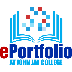 ePortfolio at John Jay logo