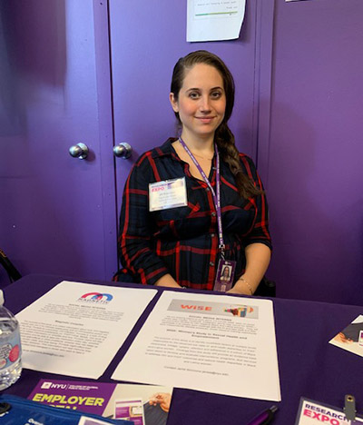 Frometa at a Research Expo