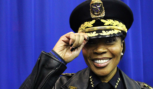 U. Renee Hall, Chief of Police, Dallas police department