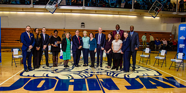 Members of the Hall of Fame at Homecoming