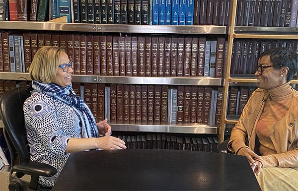 President Karol V. Mason, and Southern Poverty Law Center Interim CEO Karen Baynes-Dunning