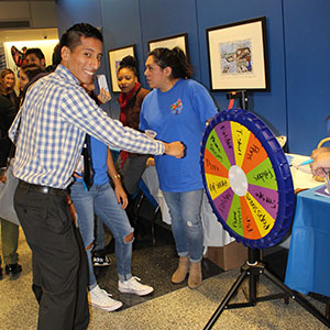 Students from Immigrant Student Success Center