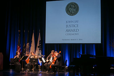 Musicians at Justice Awards