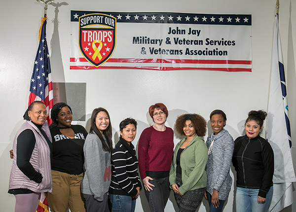 John Jay's female veterans