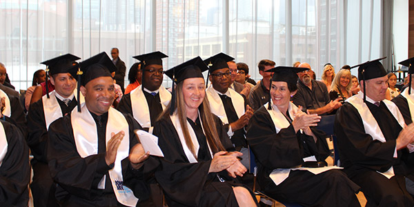 NYPD Executive Master's Program in Criminal Justice Graduates
