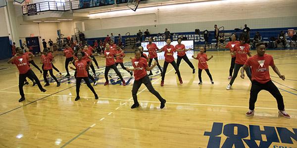 Evolution dance team