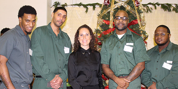 Baz Dreisinger with her Prison-to-College Pipeline students
