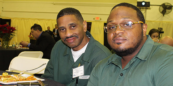 (left to right) Richard Seabrook and Kevin Lilly