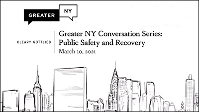 Greater NY Conversation: Public Safety and Recovery