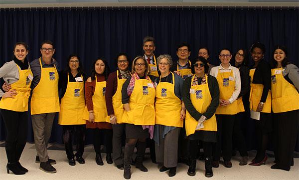 The John Jay Leadership Team, ready to serve