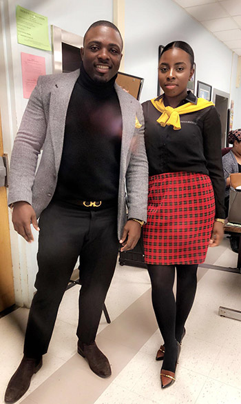 Kadian Townsend and her brother Clayon Townsend