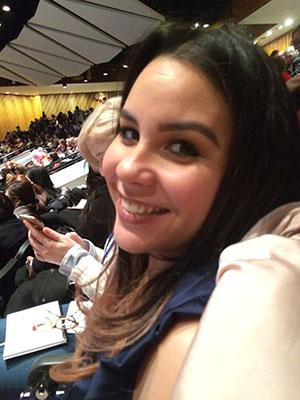 Gloria Genao at U.N.