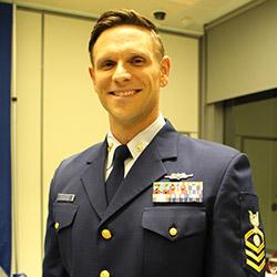 Chief Petty Officer Joshua DelVecchio