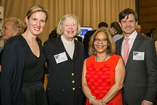President Mason with supporters at the Champions of Justice Reception, 2018