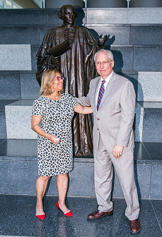 President Mason on with former John Jay President Jeremy Travis