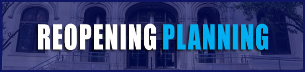 Reopening Planning banner