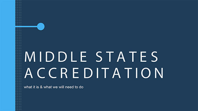 What is Middle States - View Presentation