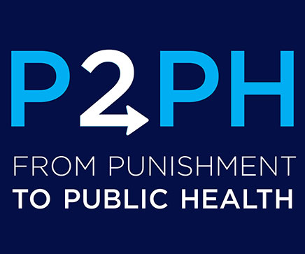 From Punishment to Public Health logo