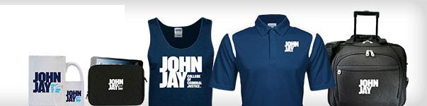 John Jay College Youth Grey Fleece Hood John Jay Bloodhounds w Hound Flat