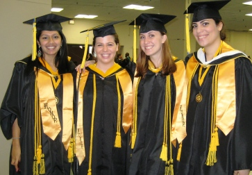 Graduating Students from the Honors Program