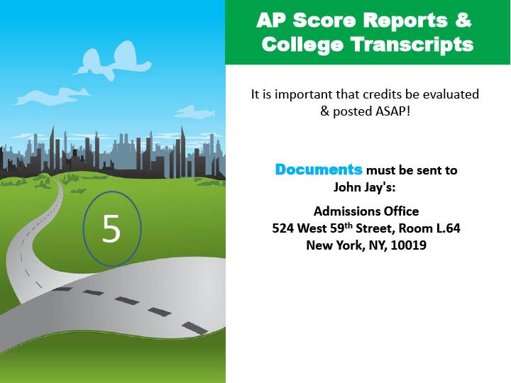 AP Score Reports & College Transcripts