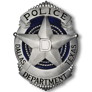 Dallas Police Department badge
