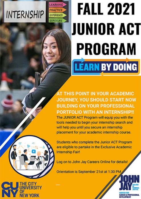 Junior Act Program Fall 2021
