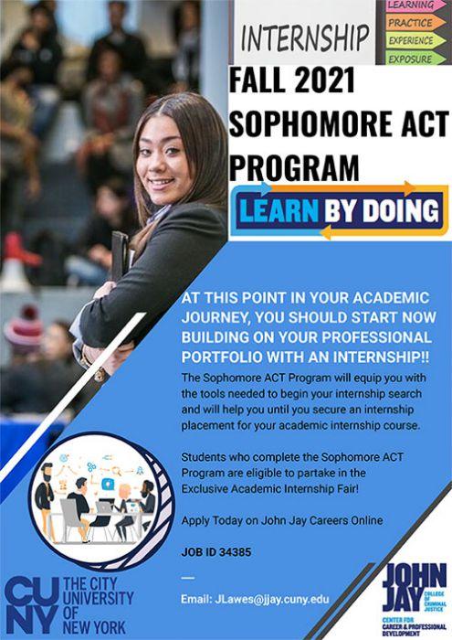 Sophomore Act Program Fall 2021