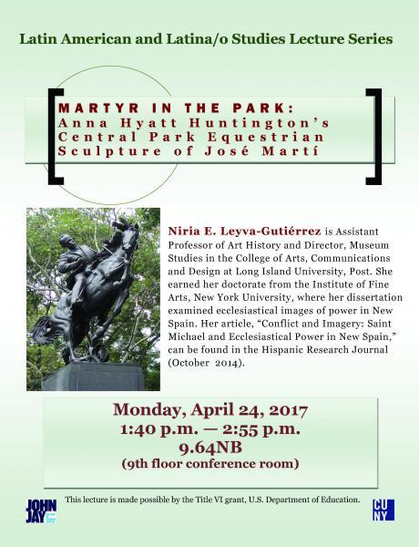 Latin American and Latina/o Studies Lecture Series