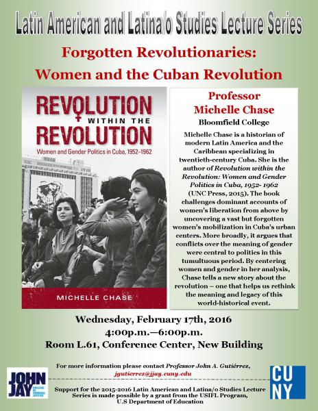 Forgotten Revolutionaries: Women and the Cuban Revolution