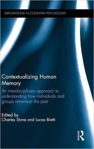 Contextualizing Human Memory book cover