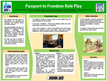 Passport to Freedom Role Play