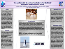 You Are Married To The Lord And Your Father Is Your Boyfriend: Purity Balls and Reproductive Justice