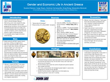 Gender and Economic Life In Ancient Greece